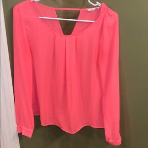 Bright neon shirt Sz Small
